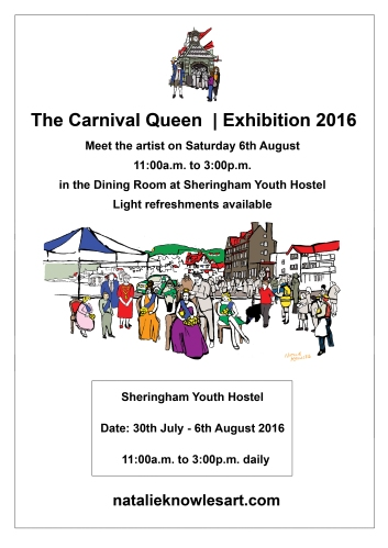 Carnival Queen Poster | © Natalie Knowles 2016