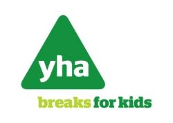 YHA Breaks for Kids Charity Logo