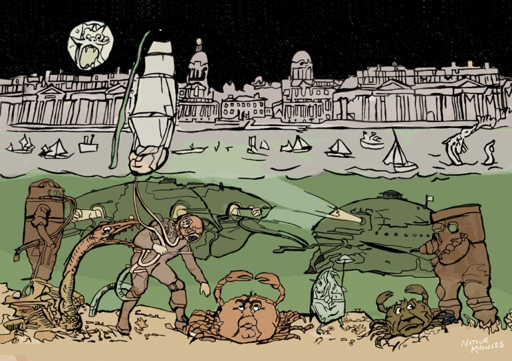 the subsalians go down to sea at greenwich | © Natalie Knowles 2017