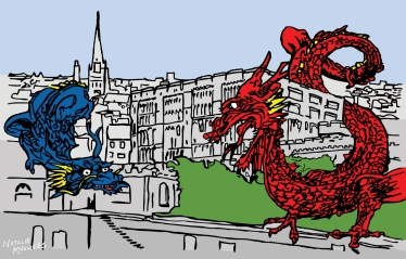 Keeper of the Castle; Norwich Dragons | Natalie Knowles © 2018