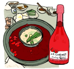 Chongqing Hot Pot with Chennet | Natalie Knowles Art © 2018