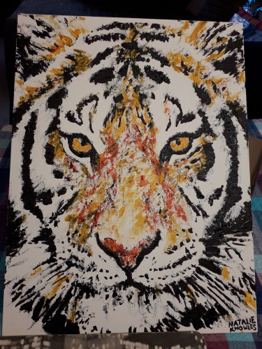 Tiger | Natalie Knowles Art © 2018