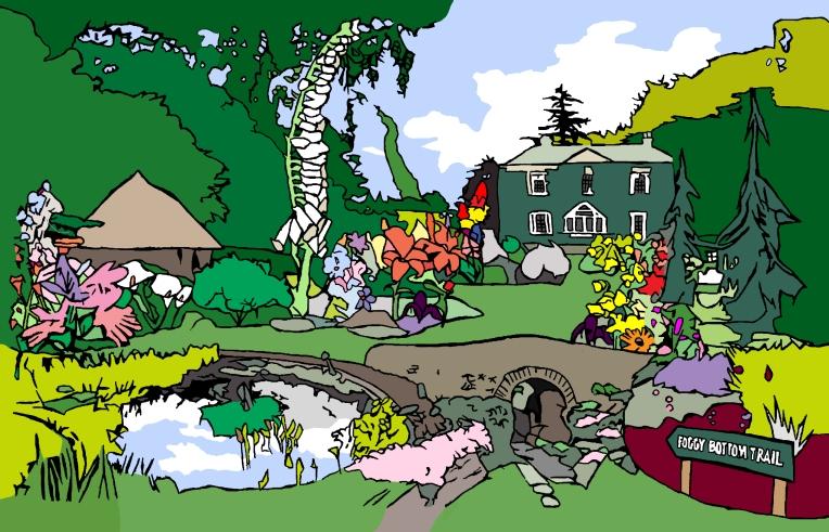 Bressingham Gardens Natalie Knowles